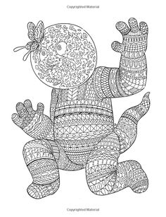 382 Best Doodle Monster Coloring Pages Images On Pinterest