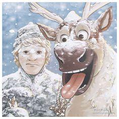 Frozen - Kristoff and Sven