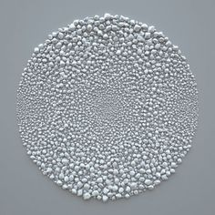 is a project by Italian designer Giuseppe Randazzo whose website, novastructura, features a number of algorithmic works. Inspired by the work of Richard Long, Randazzo uses algorithms to create stones and to sort them by size all based on a trial and error algorithm.