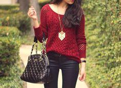 kaitlinn-xo: sweater | Tumblr on We Heart It....