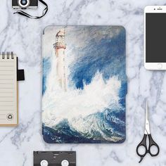 Kindle Paperwhite Case Van Gogh Design Skin, Lighted Slim Leather Cover Fit Kindle Paperwhite 2013 2015 2016, 6th generation
