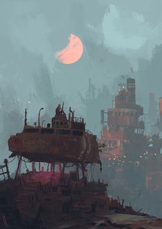 ArtStation - Outsider, Ismail Inceoglu