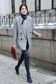 Black bandana plaid blazer striped tee black jeans black boots The post British heritage appeared first on Black Jeans. Blazer Outfits, Plaid Blazer, Casual Outfits, Casual Blazer, Blazer Shirt, Fall Blazer, Checked Blazer, Looks Street Style, Autumn Street Style