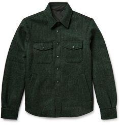 AspesiHarris Wool-Tweed Shirt Jacket
