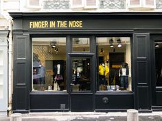 Finger in the Nose, my favorite shop for children's clothes size 0-16.