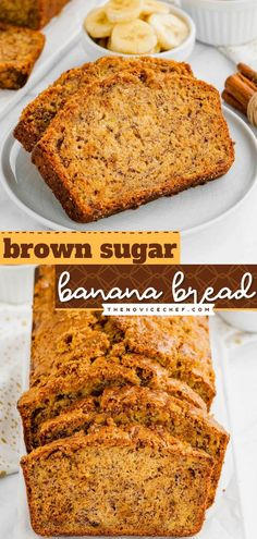 Once you try this Brown Sugar Banana Bread recipe, there is no going back! Not only is it moist and flavorful, but it also has a crackly-sweet topping. No one can turn down a slice of this tasty… Best Homemade Bread Recipe, Easy Bread Recipes, Banana Bread Recipes, Quick Bread, Healthy Recipes, Brown Sugar Banana Bread, Make Banana Bread, Easy Desserts, Delicious Desserts