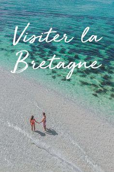 Visiter la Bretagne et ses plages paradisiaques. Road Trip France, France Europe, New York Travel, Paris Travel, Cannes, Provence, Travel Oklahoma, Portugal Travel, Blog Voyage