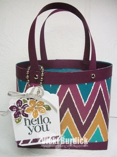 It's a Stamp Thing: Hello, you.....Bag in a Box