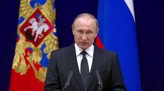Putin Congratulates SVR's Employees & Veterans on 95th Anniversary of Ru...