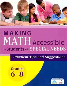 Making math accessible to students with special needs, grades by solution tree - issuu Education Quotes For Teachers, Quotes For Students, Video Games For Kids, Children Images, Kids Nutrition, Special Needs, Educational Technology, Workout Programs, Kids Learning