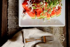 Watermelon Salad - f o o d f e t i s h l a