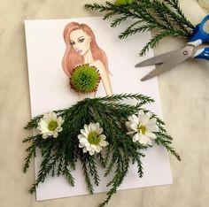 Creative fashion design by American Artist Edgar