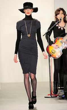 Yestadt Millinery Collaboration with Vena Cava FW '10