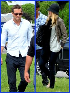Ryan Reynolds and Blake Lively Touch Down in Venice