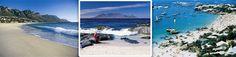 Beaches near Cape Town, South Africa