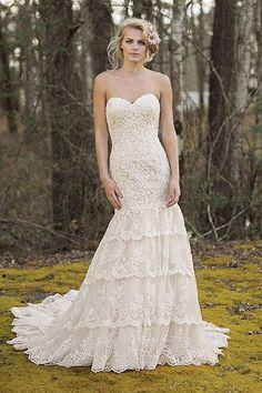 123ac902bd24e7 18 beste afbeeldingen van Trumpet - Bruidsjurken - Bridal gowns ...
