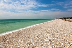 Uk Beaches, Famous Beaches, Beautiful Places To Visit, Beautiful Beaches, Bracklesham Bay, Water Surfing, Fossil Hunting, Cathedral City, Beach Images