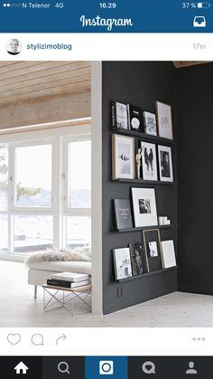 Materialkombinasjon; tak, vegg og gulv!