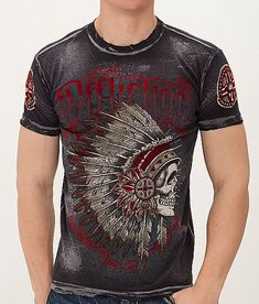 Affliction Peace Pipe T-Shirt $58