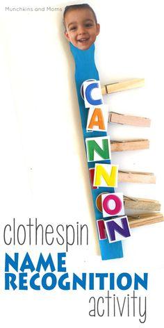 Clothespin name reco