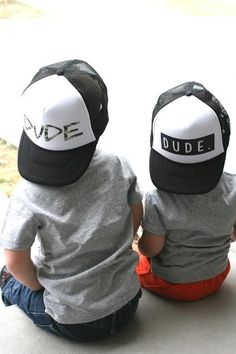 Dude Trucker Hats for Kids | Jane