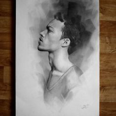 """""""Finally done! Pencil drawing on 70 x 50 cm paper. #drawing #pencil #art #portrait #arts_help #theartslovers #freshart #baigart #artistic_support…"""""""