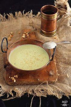 Crema de calabacín y manzana*