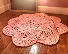 Large 39 Thick and Soft Crochet Round Sunshine by OnceUponACraft4U, $112.49