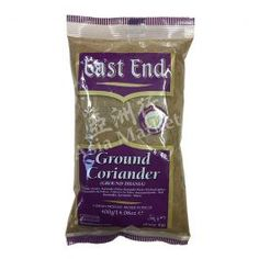 East End Ground Coriander 400g. Ground Coriander Powder from east End brand in 400g packets. Coriander is an essential part of most of the cuisines in India.