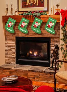 Personalized 8 Bit Santa Claus Christmas Stocking Part 65
