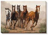 Break Away--Horses Limited Edition Print | Wild Wings