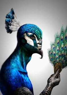 """Melek Taus (Persian: ملك طاووس), or the """"Peacock Angel"""", is the Yazidi name for the central figure of their faith. Click image to read more."""