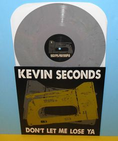 KEVIN SECONDS don't let me lose ya Lp Record COLORED Vinyl , 7 seconds #PunkNewWave