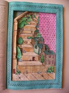 Altered book by Moni