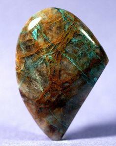 Pegmatite Stone w/Chrysocolla