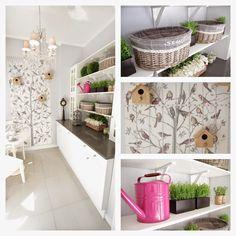 Home-Styling: Laundry Room With Style * Lavandaria Em Estilo
