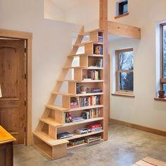 Escada/ estante personalizada com design do