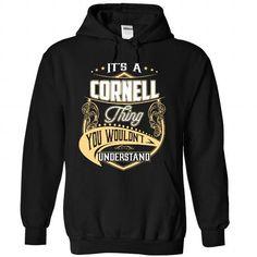 CORNELL - #gift for girls #student gift. GET IT => https://www.sunfrog.com/Names/CORNELL-5721-Black-Hoodie.html?68278