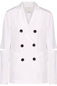 JOHN Knits Pink Crystal /& Sequin Open Topper Jacket Blazer sz 12 $1165 NWT ST