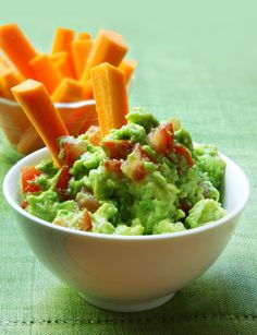 This Avocado Spread is one of my favorite snack time treats! It's perfect for dipping veggies. #snackideas