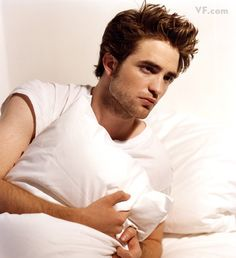 In Bed With Rob {Vanity Fair 2009}
