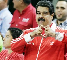 O presidente da Venezuela, Nicolás Maduro, durante comício em Caracas na última segunda-feira (30)