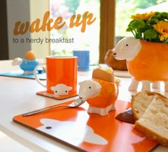 Brighten up your breakfast table with Herdy!