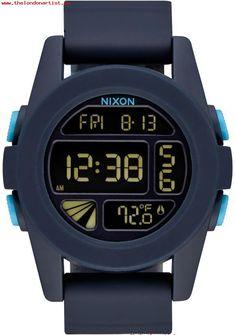 ff1e0f0dbfb De moda Nixon Azul Cuarzo Hombre Reloj NIXON A1972224 Cute Watches