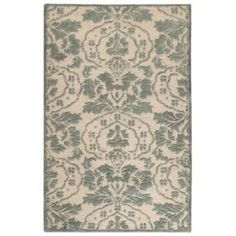 Home Decorators Collection Amberley Natural and Green 5 Ft. 3 In. x 8 Ft. 3 In. Area Rug  on  Daily Rug Deals