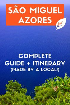 Where to go and what to do in the largest island of Azores, Portugal. All tips from an azorean!  @visitportugal @visitazores  #azores #portugal #saomiguel #travelstoke #lonelyplanet