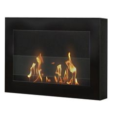 I pinned this Soho Indoor Wall-Mount Fireplace from the Courteney Cox: Curate for a Cause event at Joss and Main!