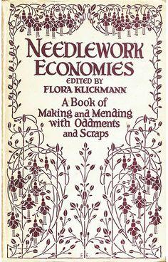 The Project Gutenberg eBook of Needlework Economies, edited by Flora Klickmann. Crewel Embroidery, Embroidery Patterns, Sewing Patterns, Embroidery Books, Sewing Art, Sewing Crafts, Sewing Projects, Embroidery Techniques, Sewing Techniques