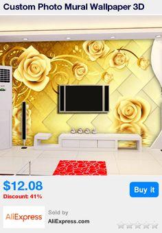 3D Wallpaper Mural Embossed Flowers White Roses Wall Paper