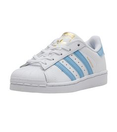 ADIDAS+Superstar+Infant/Toddler+low+top+sneaker++Lace+closure+Rubber+outsole+for+traction+ADIDAS+Trefoil+branding